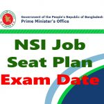 NSI Job 2019 Seat Plan & Exam Date