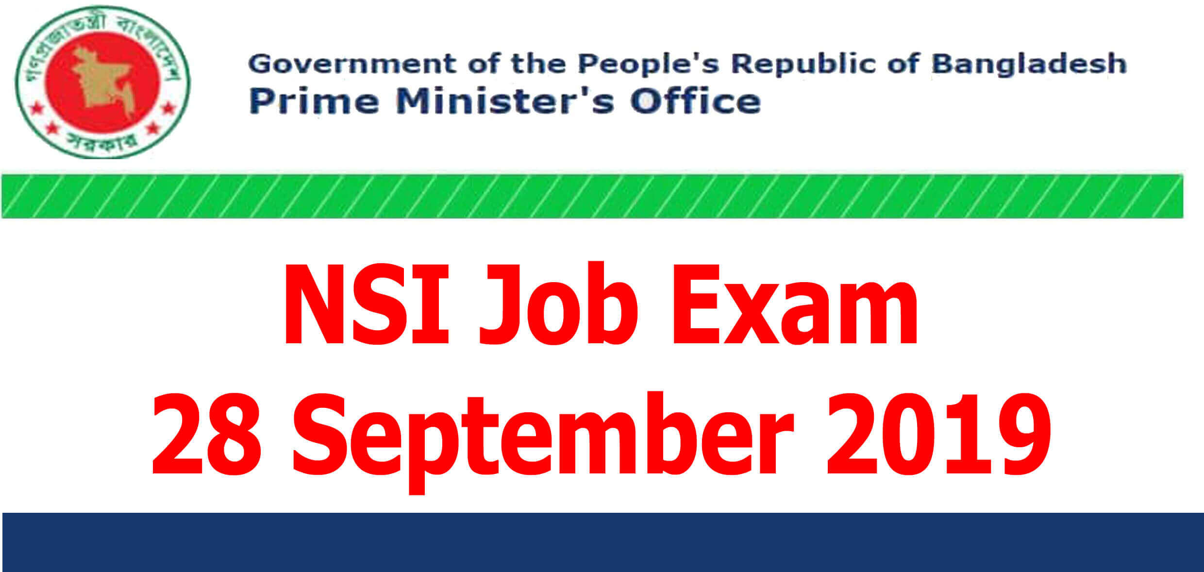 nsi job exam 28 September 2019